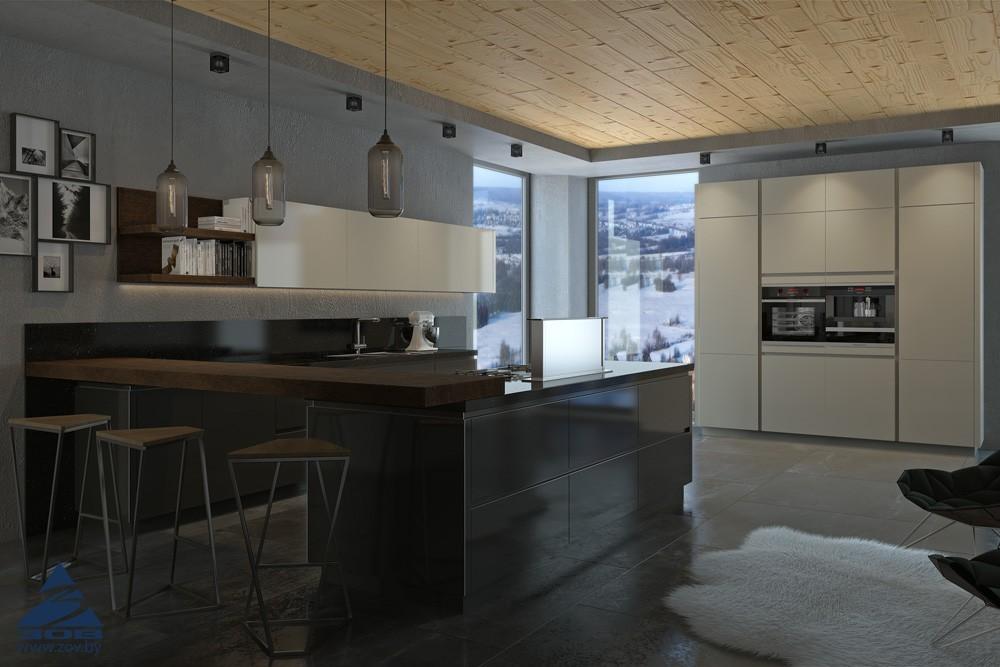 Барная стойка на кухне: за и против