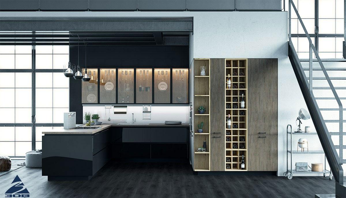 Кухня в стиле Хай-тек: особенности интерьера