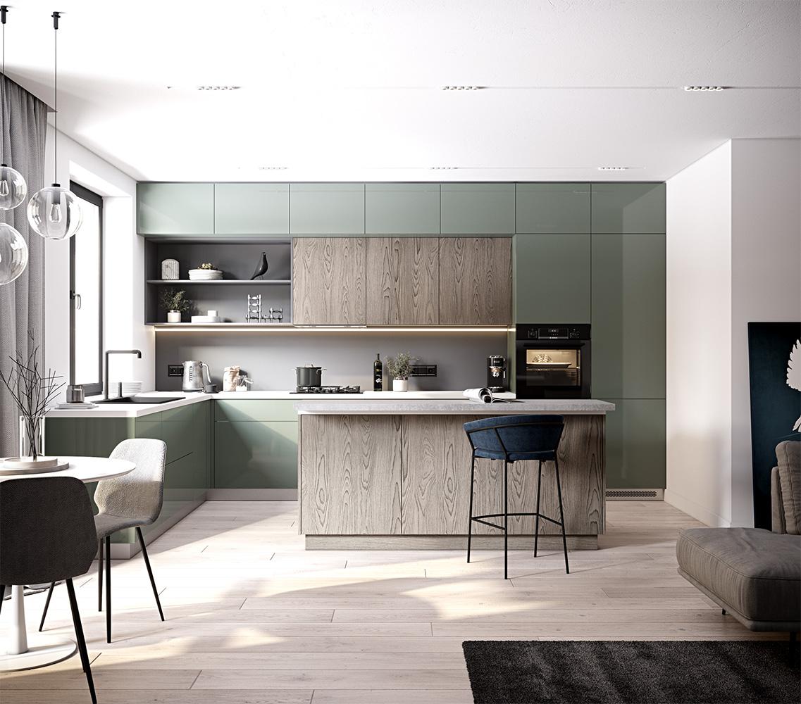 Кухонные тренды 2021