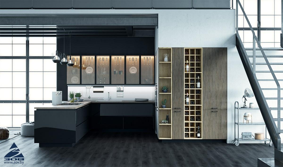 Способы увеличения пространства в интерьере кухни