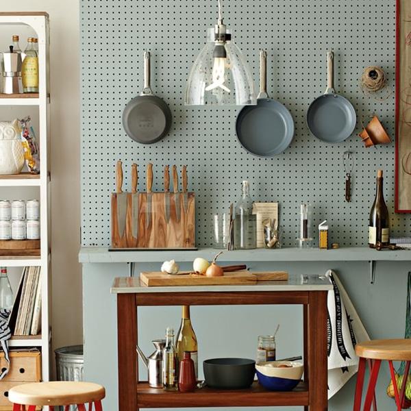 Цвет посуды и стиль интерьера